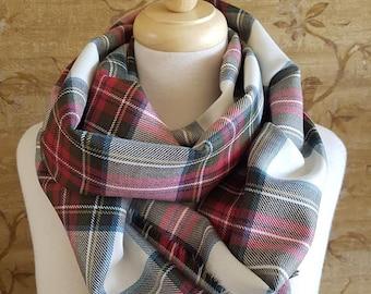 Weathered Dress Stewart Outlandish Cowl Wrap