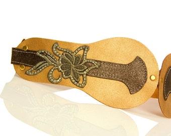 Gold belt - Metal belt - Gold  Waist Leather Belt - women belts - wedding sash - wedding dress sashes belts- BOGO SALE