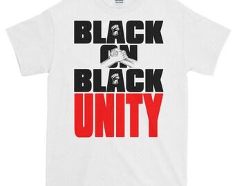 Black on Black Unity Short sleeve t-shirt