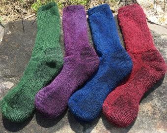 Heavy, warm Alpaca socks