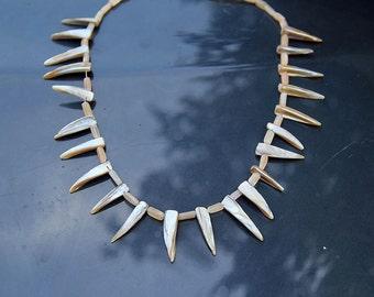 Spiky Abalone Necklace