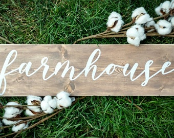 Farmhouse Sign, Farmhouse style sign, Rustic Sign, Hand Painted Sign, Farm house decor