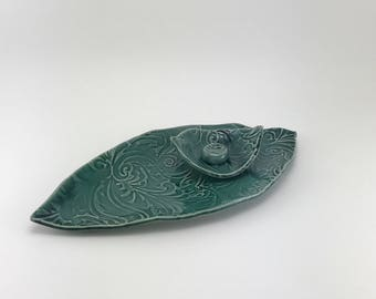 Sushi Set, Ceramic Sushi Set, Handmade Pottery, Tableware, Serving Platter