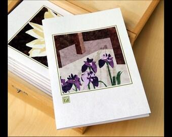 FLOWERS - A6 Plain Paper Notebooks - Designs by Allison Mackenzie