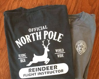 Reindeer Flight Instructor Christmas Shirt