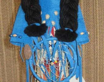 OOAK - Native American Dream Catcher Doll