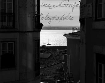 Street of Lisbon, Portugal, Lisbon. A street in Lisbon, Lisbon, Portugal