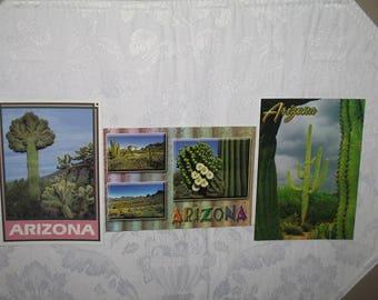 Set of 3 Arizona Postcards