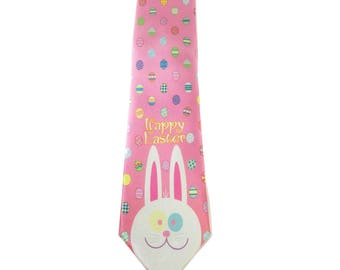 Stonehouse Collection Men's Easter Tie - Easter Eggs Necktie - 26043