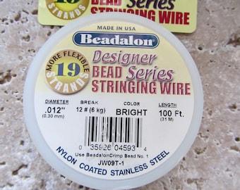 Beadalon Bead Stringing Wire 19 strand