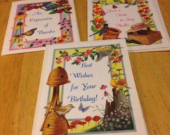 All Occasion Greeting Cards - Set of 3