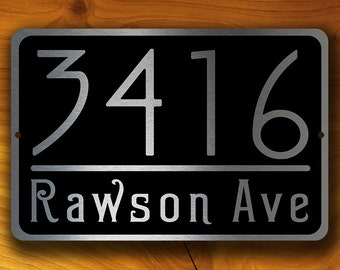 PERSONALIZED ADDRESS SIGN, Outdoor Address Signs, Address Plaque, Hanging Address Sign, Hanging Address Plaque, Address Plaque, Door Numbers
