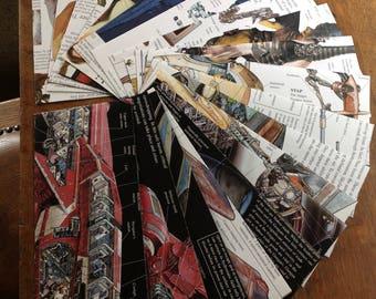 Star Wars envelopes - Letter size - No. 10 envelopes - Book page envelopes - pen pal gift - snail mail - fun envelopes - birthday envelopes