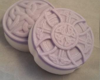 celtic soap, knot soap