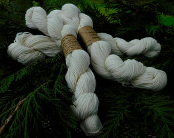 Sport Blend in White by Delphi Valley Alpacas