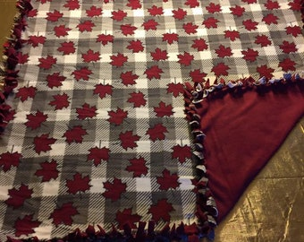 Canada Fleece Blankets