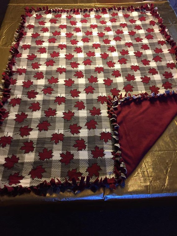 Gorgeous Custom Made Canada Fleece Blanket by MadeByJadeSnell