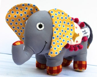 Sewing Pattern - Pickles the Elephant