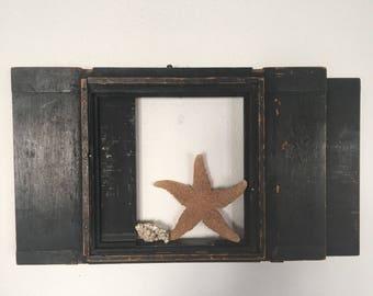 Vintage Frame, Antique Wood Frame from Daguerreotype Camera, Slide Case from the Plate Camera