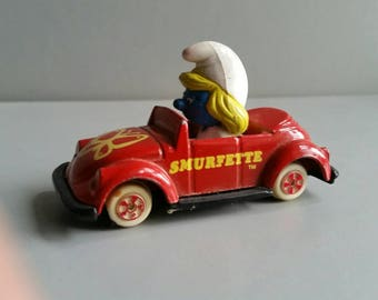 Smurfette vw bug by Ertl 1982