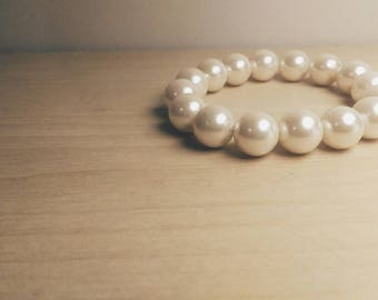 Pearl Slip-On Bracelet