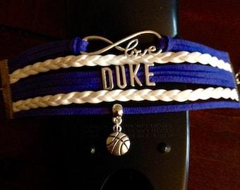 Duke Basketball Bracelet