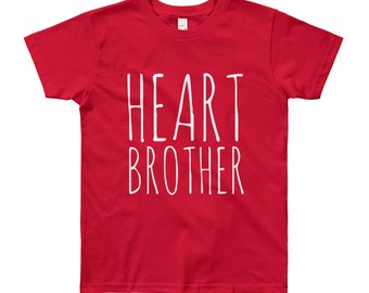 Heart Brother // Youth 8-12yrs T-Shirt // CHD Awareness
