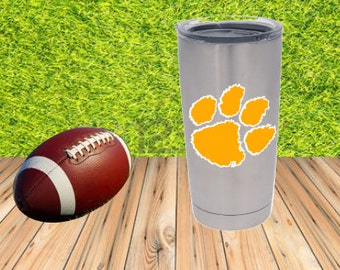 Clemson Tigers Yeti Cup Decal!