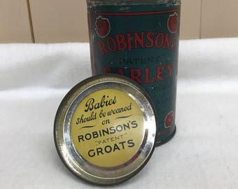 Robinson Barley Tin