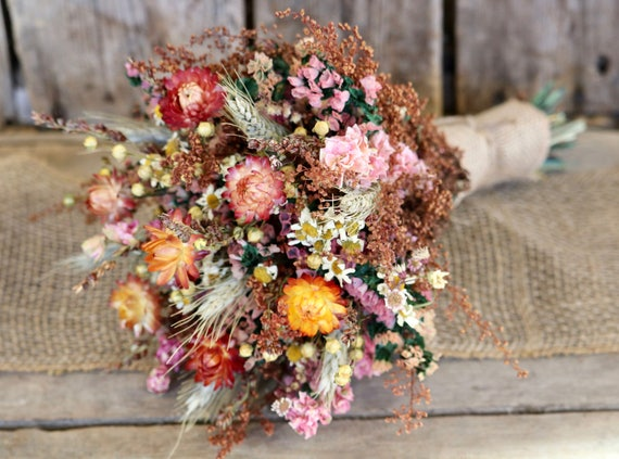 FALL Flower Bouquet Rustic Wedding Bouquet Bridal Bouquet