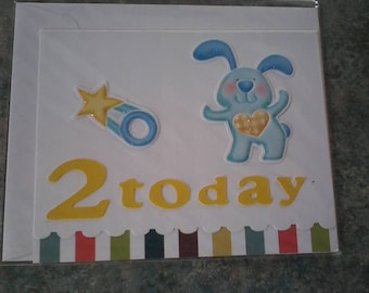 Card for a 2 year old
