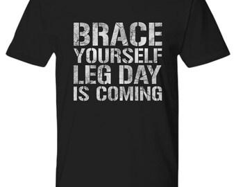 Leg Day Shirt, Gym Shirts, Workout Shirts, Fitness Tee, Fitness Shirts