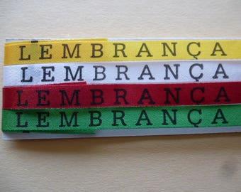 the Brazilian friendship bracelets good fim lucky set of 4 different colors