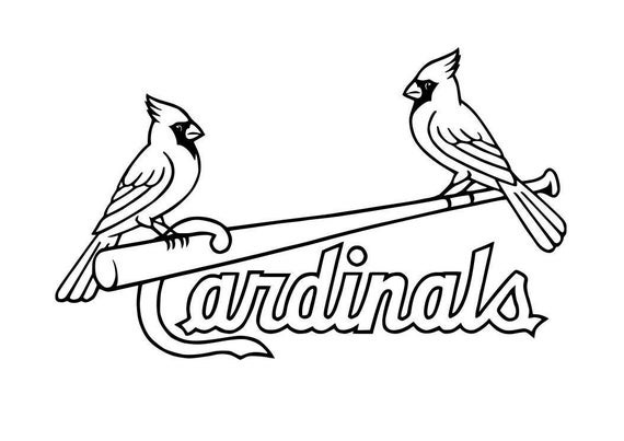 st louis cardinals logo decal free shipping from decalden on etsy rh etsystudio com St. Louis Cardinals Clip Art Black and White St. Louis Cardinals Baseball