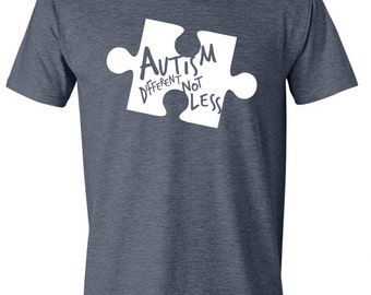 YOUTH Autism Different Not Less Tee
