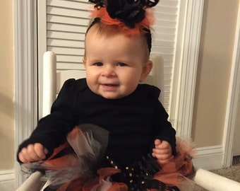 Trick or Treat, Halloween Tutu, Haloween Costume, Photo Shoot prop,