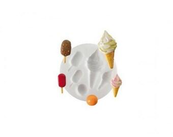 Mini Mold Silicone Theme ice