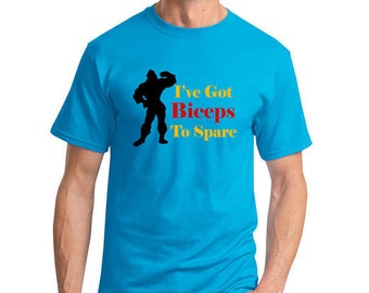 I've Got Biceps To Spare - Gaston Shirt - Beauty And The Beast - Disney Shirt - Disney Men's Shirt