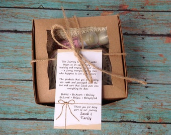 Middle of the Road Sampler Gift Pack - Paraben/Sulfate Soap and Lip Balm