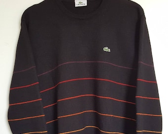 100% Pure wool Vintage vintage Lacoste sweater 90-00 Made in France size s.
