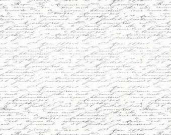 Fabric by the Yard - Tres Graphique Script