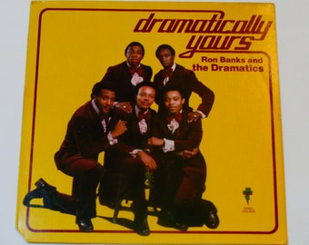Ron Banks and the Dramatics - Dramatically Yours - Soul - R&B - Volt Records 1974 - Vintage Vinyl LP Record Album