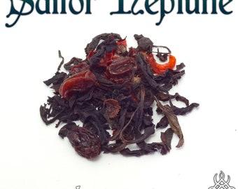Sailor Neptune - loose leaf oolong tea, chocolate cherry tea, Sailor Moon Crystal, fandom tea gift, Michiru Michelle Kaioh, Moon Kingdom