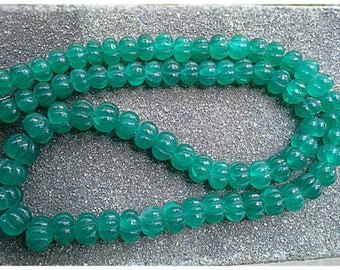 Very fine stunning handcrafted with transparent green  genuine vintage emerald!