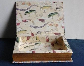 booksafe with decorative inside