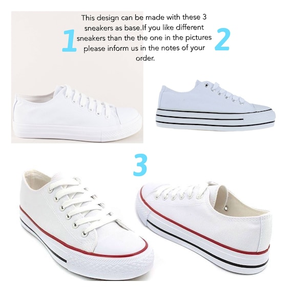 1c152346e2d7 ... with Wedding trainers trainers bridal Custom Wedding with White  rhinestone lace sneakers with converse crystals sneakers
