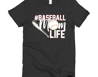 Baseball Mom Life Women's T-Shirt