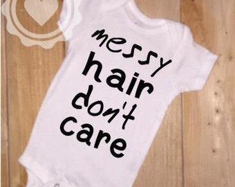 Messy Hair, Don't Care Bodysuit