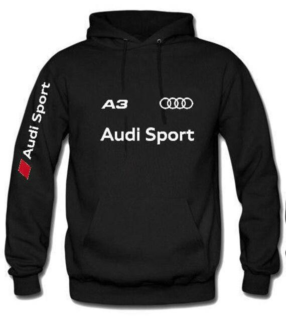 Audi Sport A6 hooded sweatshirt A1 A3 A4 A5 A6 A7 Q3 Q5 Q7 u1ZmkJ