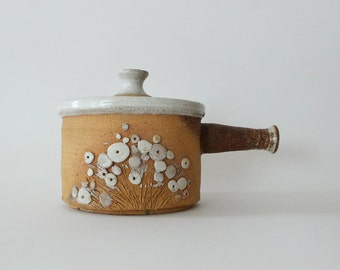 Vintage 70's Terracotta Clay Pot